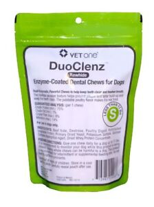 VetOne DentaClenz Pet Dental Chew Healthy Teeth & Freshens breath 30ct