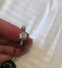 Stunning diamond solitaire engagement ring brand new Boxed and tagged.