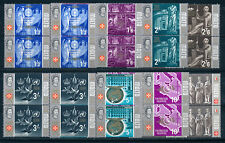 MALTA 1965 DEFINITIVES SG341/348 (HIGH VALUES) BLOCKS OF 4 MNH