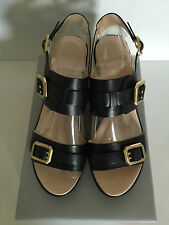 Rockport Black Buckle Ankle Shoes- Size 8 / EUR 38.5 / UK 5.5 / 25CM - Brand New