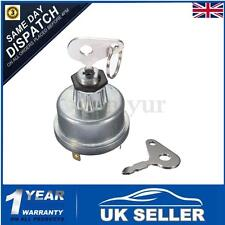 Universal Digger Plant Tractor Ignition Switch & 2 Key For Lucas Massey Ferguson
