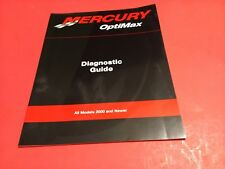 Mercury OptiMax Diagnostic Guide All Models 2000 and up 90-889525 OEM Boat x