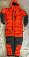 NWOT MENS MOUNTAIN HARDWEAR ABSOLUTE ZERO SUIT MEDIUM MED ORANGE HIMALAYAN DOWN
