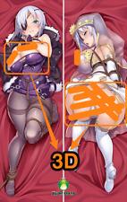 Taimanin Rpgx Aina Winchester Anime 3D Breasts & 3D butt Dakimakura pillow case