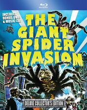 Giant Spider Invasion Blu Ray + DVD + OST CD VCI Entertainment Bill Rebane 1975