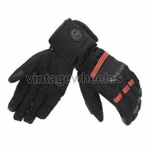 Royal Enfield Blizzard Gloves Black & Red