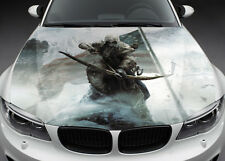 Assasin Creed Car Hood Wrap Full Color Vinyl Sticker Decal Fit Any Car