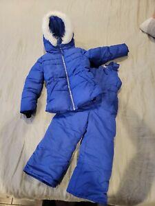 Falls Creek Kids Toddler Snow/Ski Pants Overalls & Matching Snow Coat Sz 4 5 XS