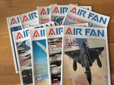 "LOT de revues ""AIR FAN "" 2011/2012"