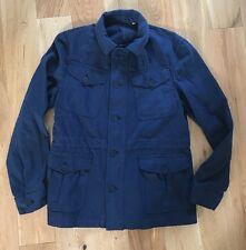 Orlebar Brown Men's Adrian Navy Blue Tailored Jacket Coat Size Medium New
