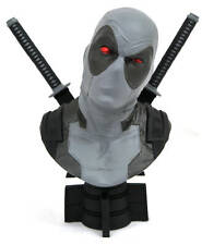 "SDCC 2019 MARVEL LEGENDS 3D ""Deadpool X-Force Uniforme"" échelle 1/2 buste en résine (Dia"