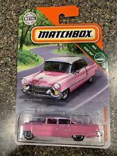 MATCHBOX '55 CADILLAC FLEETWOOD 15/20 MBX ROAD TRIP SERIES NEW