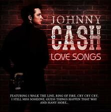CD JOHNNY CASH LOVE SONGS I WALK THE LINE RING OF FIRE CRY BIG RIVER THANKS A LO
