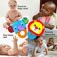 Soft Newborn Baby Rattles and Teethers Toys for Infants Baby Hand Grab Toy Usa