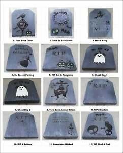 Halloween Mini Tombstones