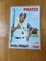 1970 Topps Willie Stargell Pittsburgh Pirates #470 Baseball Card