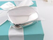 Tiffany & Co Silver Rectangle Rectangular Pill Box Holder