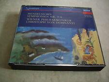 3-CD-Box  MENDELSSOHN ♫ Die Sinfonien (1-5) ♫ WPO Von Dohnanyi ♫ TOP