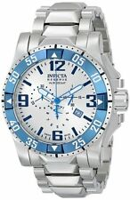 Invicta Reserve Men's Excursion Swiss Made Chronograph Stainless Steel Watch,New