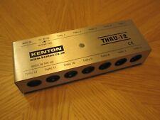 More details for kenton midi thru 12 midi control interface