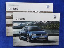 VW Jetta VI - Prospekt + Preisliste Brochure 06.2013