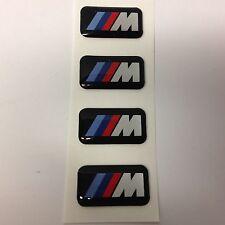 Genuine BMW   4  M Power  -   M Tec Alloy Wheel Badges