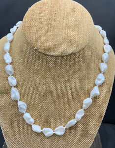 Barse Freshwater Pearl Necklace- Sterling Silver- NWT