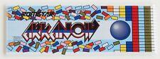 Arkanoid Marquee FRIDGE MAGNET (1.5 x 4.5 inches) arcade video game header