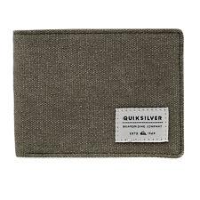Quiksilver Slim Vintage Wallet/purse Wallet - Burnt Olive All Sizes
