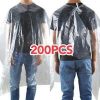 200 Disposable Hair cutting Cape Salon Gown /Hair Cut Cutting Salon Stylist Cape