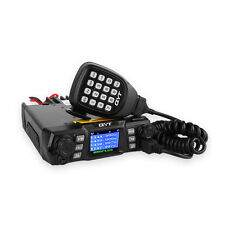 QYT KT-980 Plus VHF 136-174mhz UHF 400-480mhz 75W Dual Band Mobile Car Radio