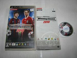 World Soccer Winning Eleven 2010 Playstation Portable PSP Japan import US Seller