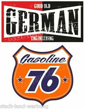 577  Set German Aufkleber Sticker Oldschool Retro Hotrod Rockabilly US Car V8
