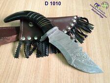 Damast Messer, Bowie Jagdmesser Damaszener, Damascuse kinves Qualität D1010