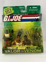 G.I Link Talbot /& Night Creeper New Joe Valor vs Venom 2004 Dr
