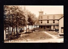Postcard Lake Carey PA Spring Grove Hotel Real Photo Wyoming County