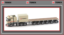 1/50 IMC Terex Actros2  8x4 w 6 axle Nooteboom Ballasttrailer + 10' Container