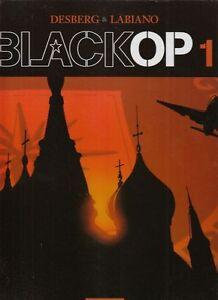 Black OP Nr. 1 - 6 komplett Hardcover Comic von Desberg / Labiano in Z 0-1 !