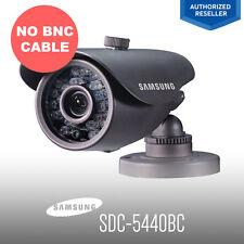 Samsung SDC-5440BC Surveillance Security System 600TVL CCTV Camera W/O BNC Cable