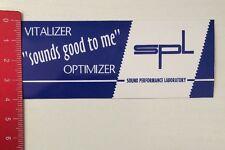 Pegatina/sticker: SPL Sound performance Laboratory-sounds good to me (050316103)