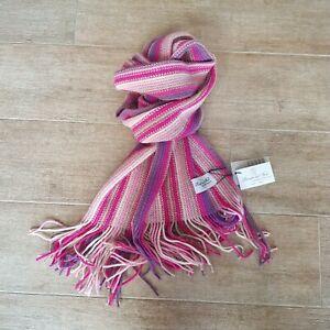 """Sciarpa UNISEX misto lana made in Italy rigata """"PRINCIPE DEL FORO"""""""