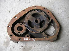 Massey Harris 101 tractor main engine motor front cover & cam gear & drive gear