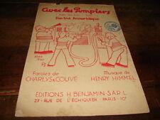 CHARLYS & COUVE & HIMMEL - Partition AVEC LES POMPIERS !!!!!!!!!!!!!!