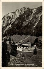 SPITZINGSEE AK 1951 Accommodation House House mountains Wilde Miss Alpine Landscape