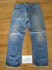 Vintage 501 transitional jean grunge tag is 38x33 Levi's meas 35x30.5 V333