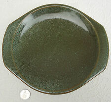 Poole Pottery charger SEA CREST twin lugged Green serving plate British platter