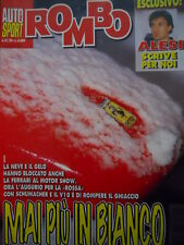Auto & Sport ROMBO 51-52 1995 Speciale la crisi di un digiuno FERRARI