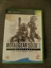 Metal Gear Solid 2: Substance (Xbox) Strategy: Stealth. Includes manual.  GC.