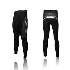 Merida Mens Cycling Long Pants Bike Bicycle Trouser Silicon Pad Sports Pants