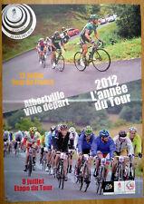 cyclisme - Affiche départ Albertville Tour de France 2012